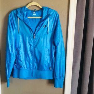 Blue Nike Windrunner Jacket